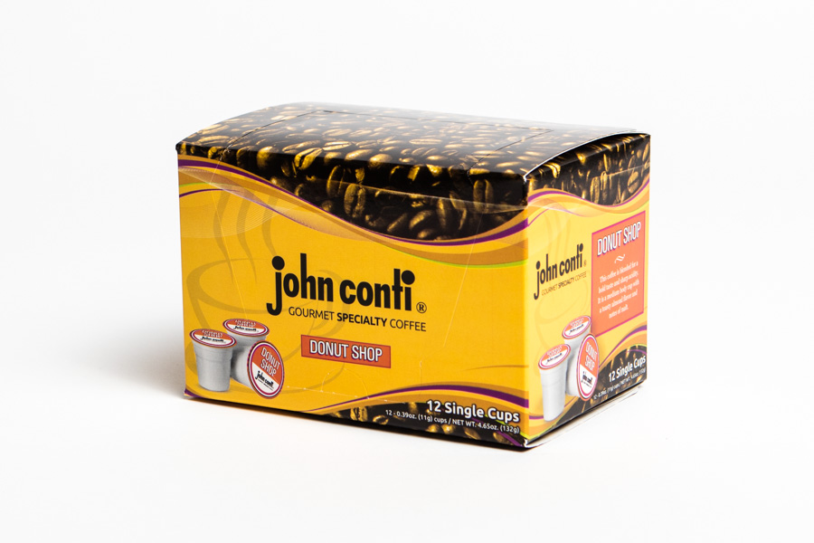 john conti donut shop single cup 12 ct - Donut Shop Coffee